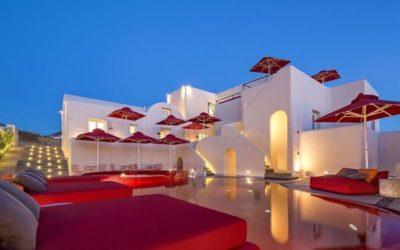 Art Hotel Santorini Adults Only ✓ Rust