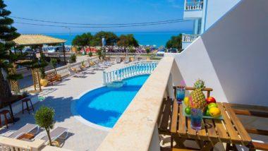 App. Vrachos Beach - inclusief huurauto