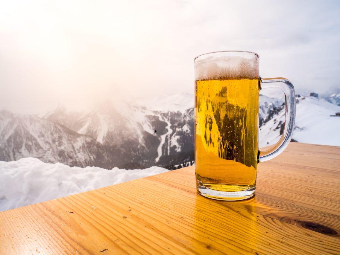 Biertje in de zon